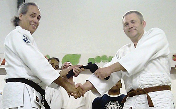 AIKIDO UK - DAVE HARRISON 1st Dan