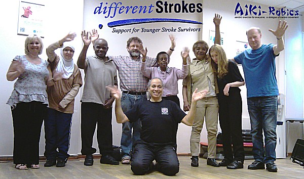 "differentStrokes - Aiki-Robics for Stroke Survivors - Carpe Diem - ""IN THE MOMENT"""
