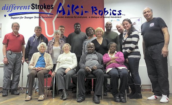 "differentStrokes - Aiki-Robics for Stroke Survivors - ""HaPpY bIrThDaY""  David Cheshire"