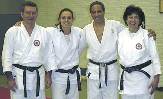 SOME TOMIKI AIKIDO STUDY GROUP MEMBERS