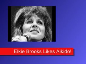 Singer Elkie Brooks Likes Aikido